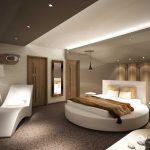 Belsőépítészet - szálloda - szoba - Polyák Gipsz